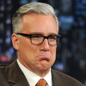 Keith Olbermann tells Kellyanne Conway how to sit, feminists silent
