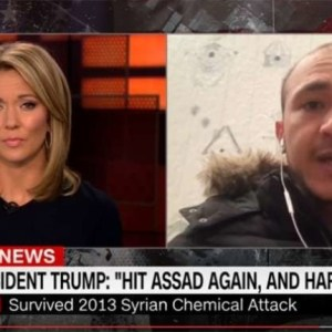 CNN Interview Backfires; 2013 Syrian Chemical Attack Survivor Thanks President Trump