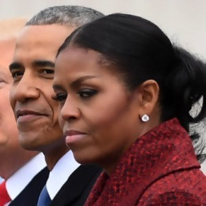 Michelle Obama Explains Her 'Side Eye' at Trump's Inauguration