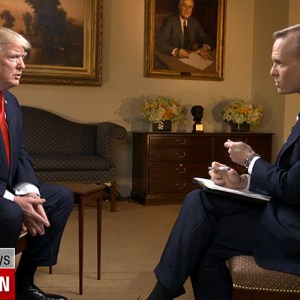 President Trump to CBS's Dickerson: 'I Love Your Show — I Call It Deface the Nation'