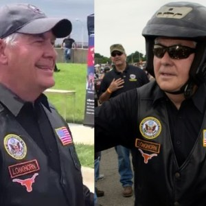 Secretary Of State Tillerson Rode His Motorcycle With Rolling Thunder For Memorial Day (Video)