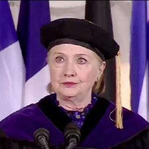 Snoozefest; Hillary Clinton's Wellesley Commencement