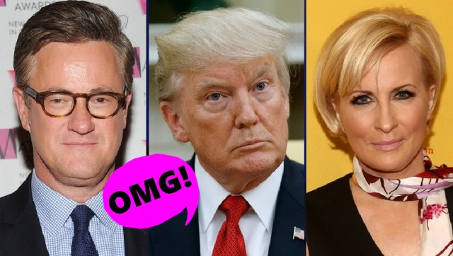 MSNBC's Joe, Mika and President Trump's National Enquirer Feud