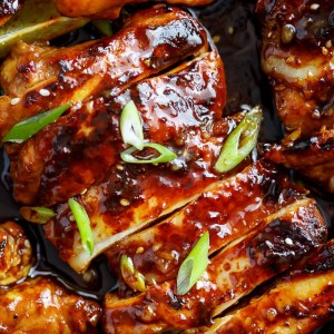 Honey Garlic Sriracha Chicken