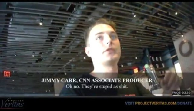 CNN producer on O'Keefe video: Voters are 'stupid as sh*t' 'Trump is 'crazy'