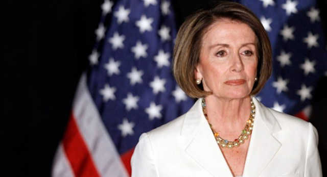 Nancy Pelosi hopes her colleagues won't dishonor God by pursuing Obamacare repeal