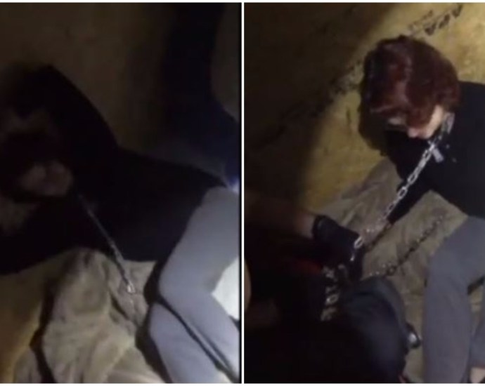 Woman Rescued from a serial killer: Video shows moment SC woman was freed