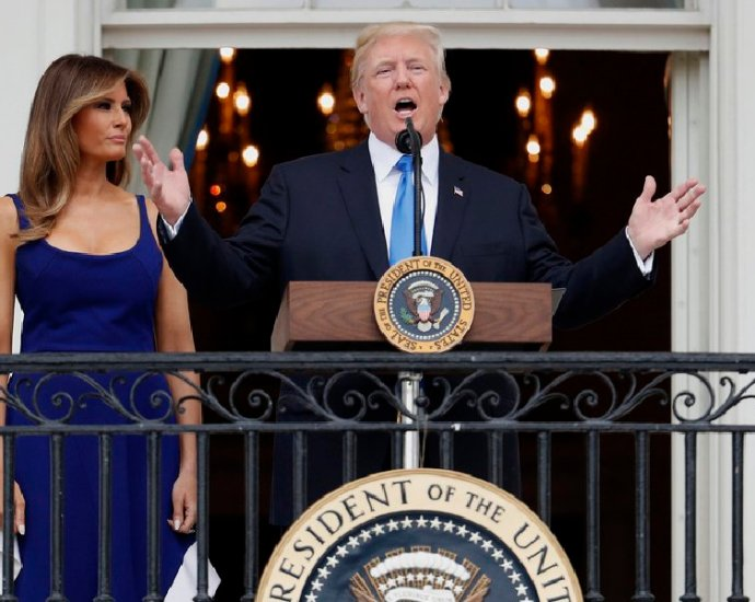 Trump's First Independence Day As President