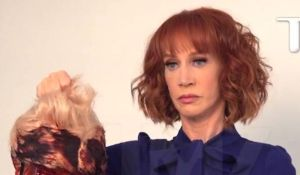 Kathy Griffin's Trump nightmare lives on as she gets a visit from the Secret Service