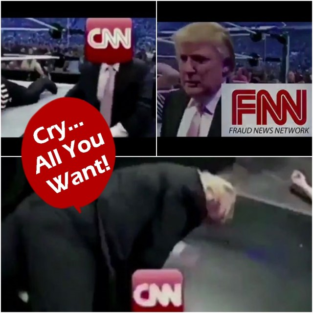 Reactions To Trump's Smackdown Of CNN Tweet