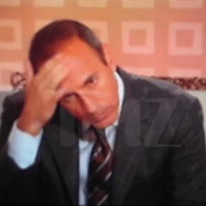Matt Lauer Caught On Tape 'Keep Bending Over It's A Nice View'