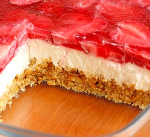 Strawberry Pretzel Dessert