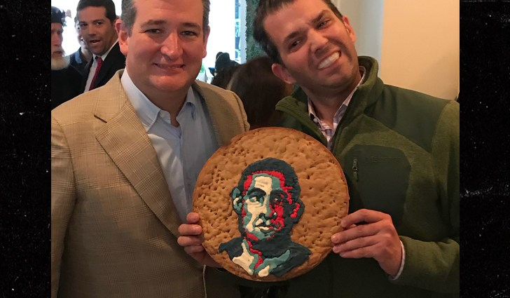 ANGRY RESTAURANT OWNER CRIES RACISM OVERDONALD TRUMP JR.'sObama Cookie Photo Op