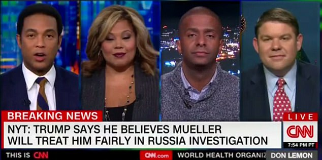 CNN host Don Lemon lost his patience with pundit Ben Ferguson