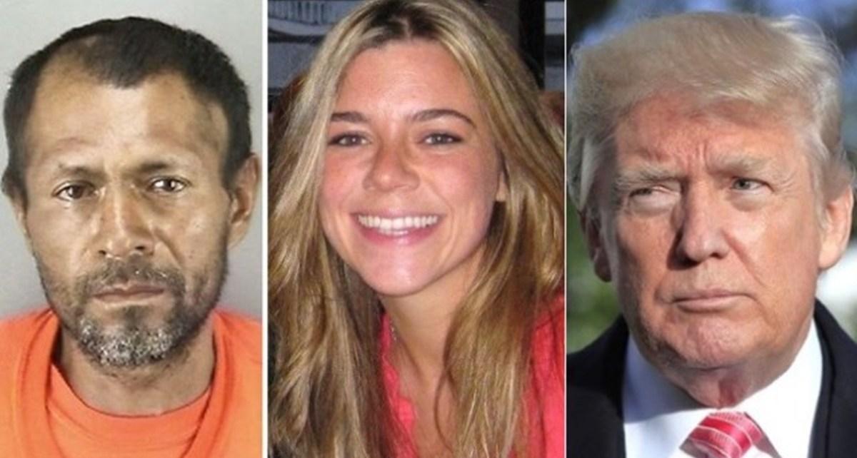 Trump Responds To Kate Steinle's Killer Verdict