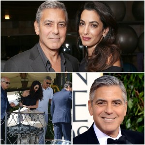 George Clooney once gifted 14 of his closest friends $1.3MILLION EACH to say thanks... and 'handed headphones to every passenger on flight to apologise for noise from twins'