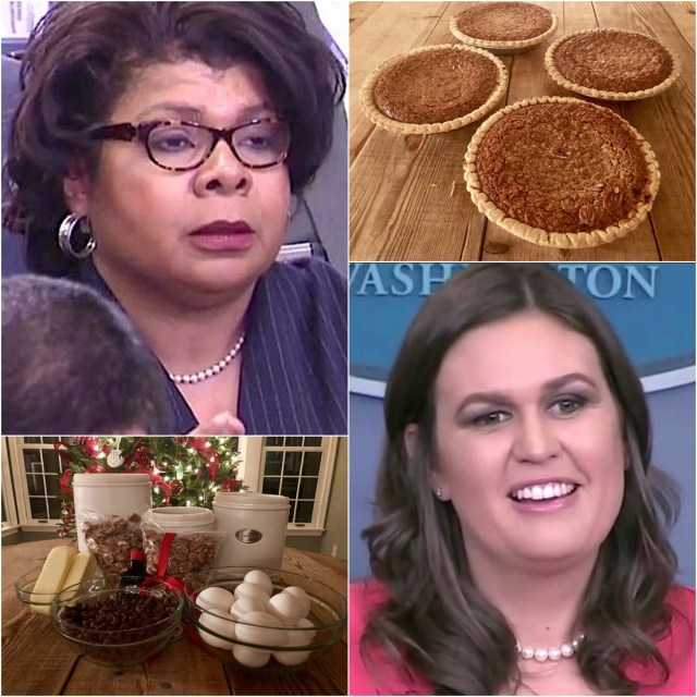 Sarah Sanders offers pie to reporter 'April Ryan' after PieGate exchange