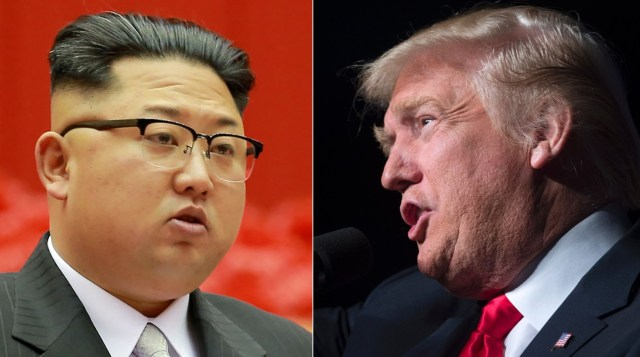 """President Trump took to Twitter Tuesday night to blast North Korean leaderKim Jong Un, saying he, too, has a """"nuclear button"""" that is """"much bigger & more powerful"""""""