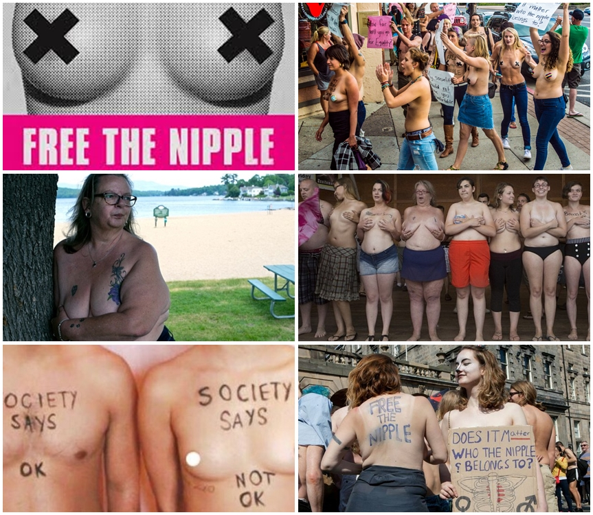 'Free The Nipple' Women To Sue The State Of New Hampshire