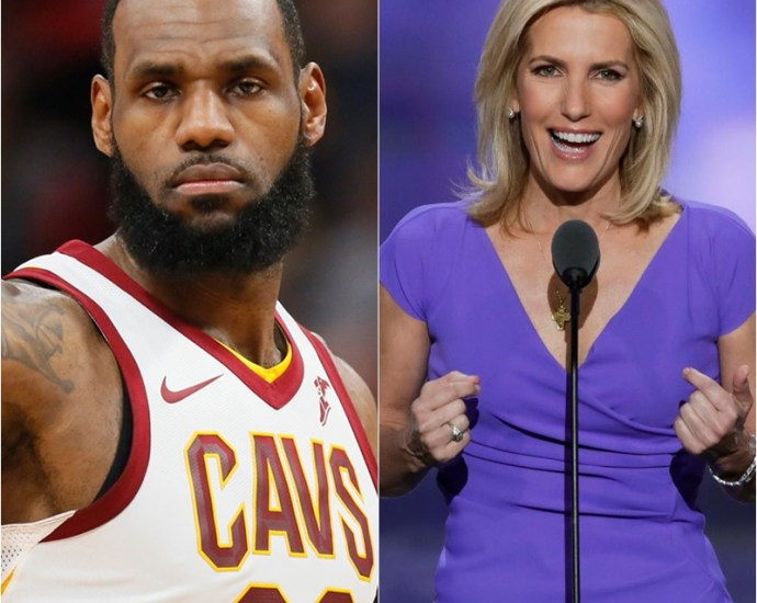 Laura Ingraham To LeBron James 'Shut Up And Dribble'