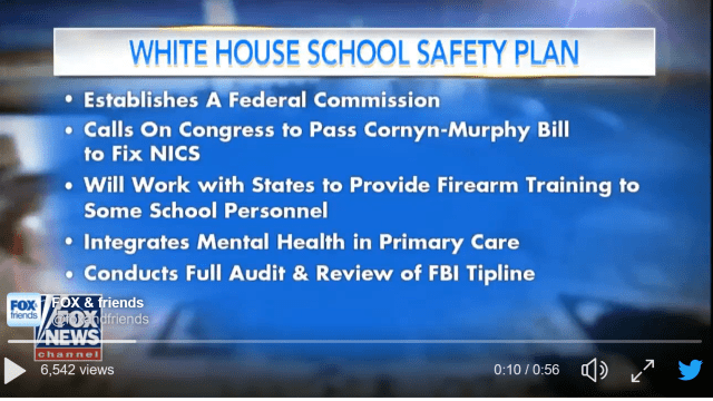 Trump Administration Outlines 'School Safety' Measures