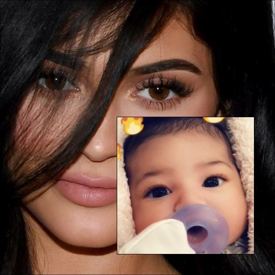 Kylie Jenner Shares First Photo of Baby Stormi