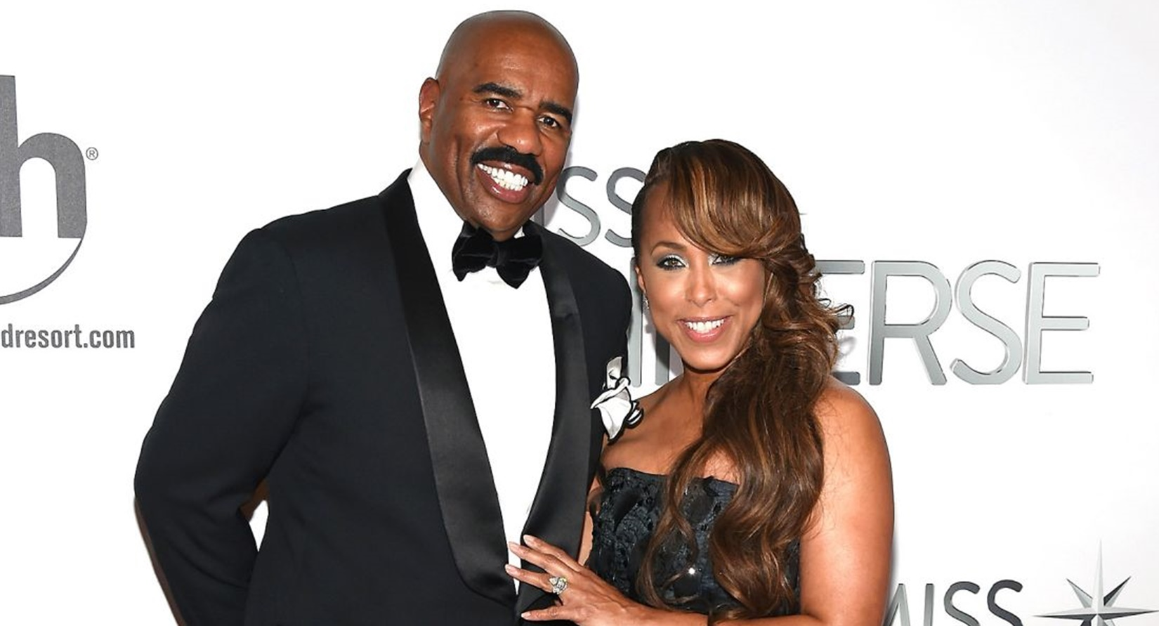 "Steve Harvey and his wife are under fire for using the word ""R"" word in a playful Instagram video"