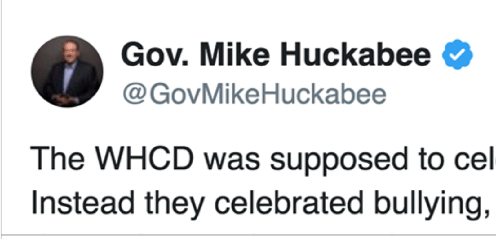 Papa Bear Gov Mike Huckabee Responds To NASTY Attack On Sarah At WHCD