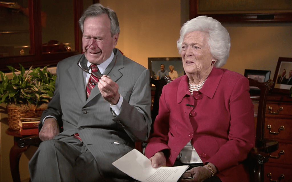 George H.W. and Barbara Bush's Wartime Love Letters