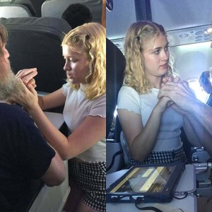 Sweet Teen Uses Sign Language To Comfort A Blind And Deaf Man