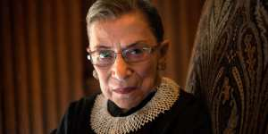 White House Prepares For Ginsburg's Departure