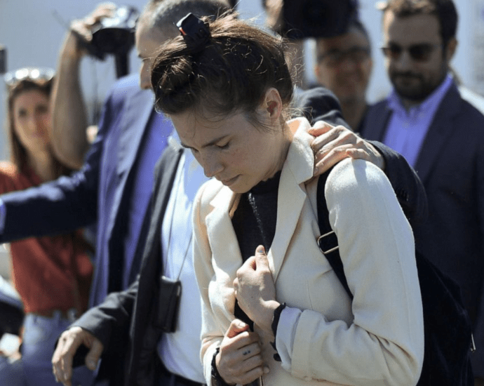 Amanda Knox Returned To Italy For The First Time Since She Was Imprisoned