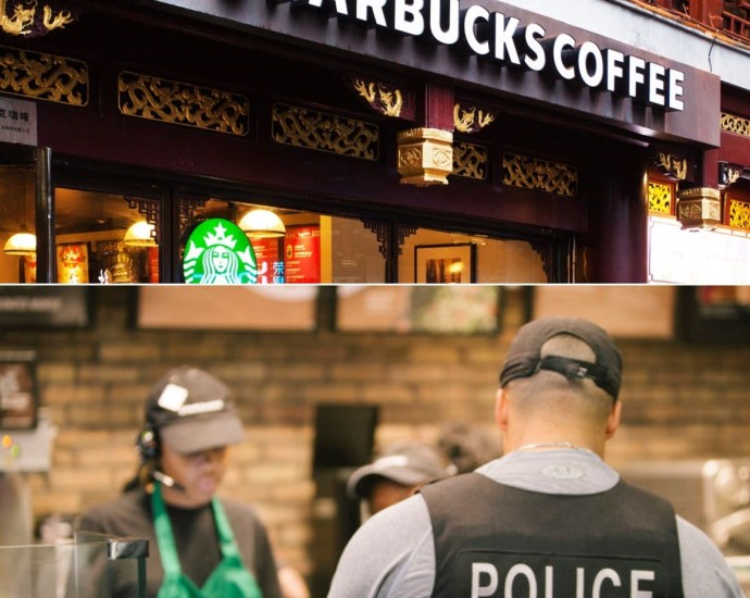 Starbucks barista asks police officers to leave because customer 'did not feel safe,'