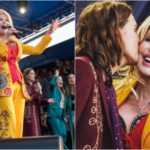 Dolly Parton Makes Surprise Appearance At Newport Folk Festival