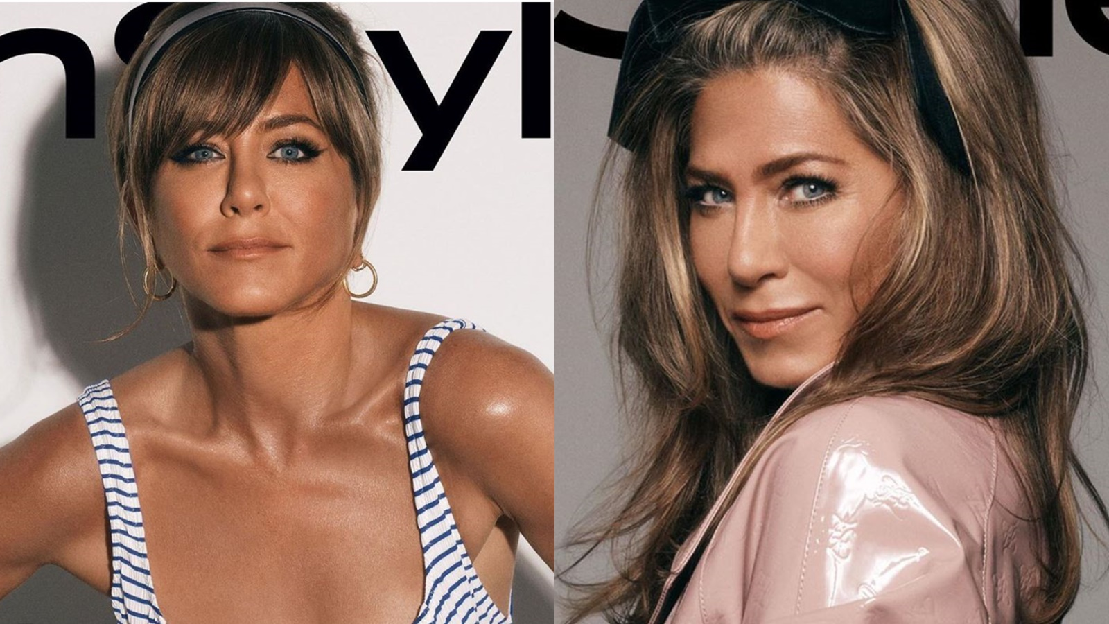 Jennifer Aniston's Dark Skin Color on InStyle October Beauty Cover Upsets Fans