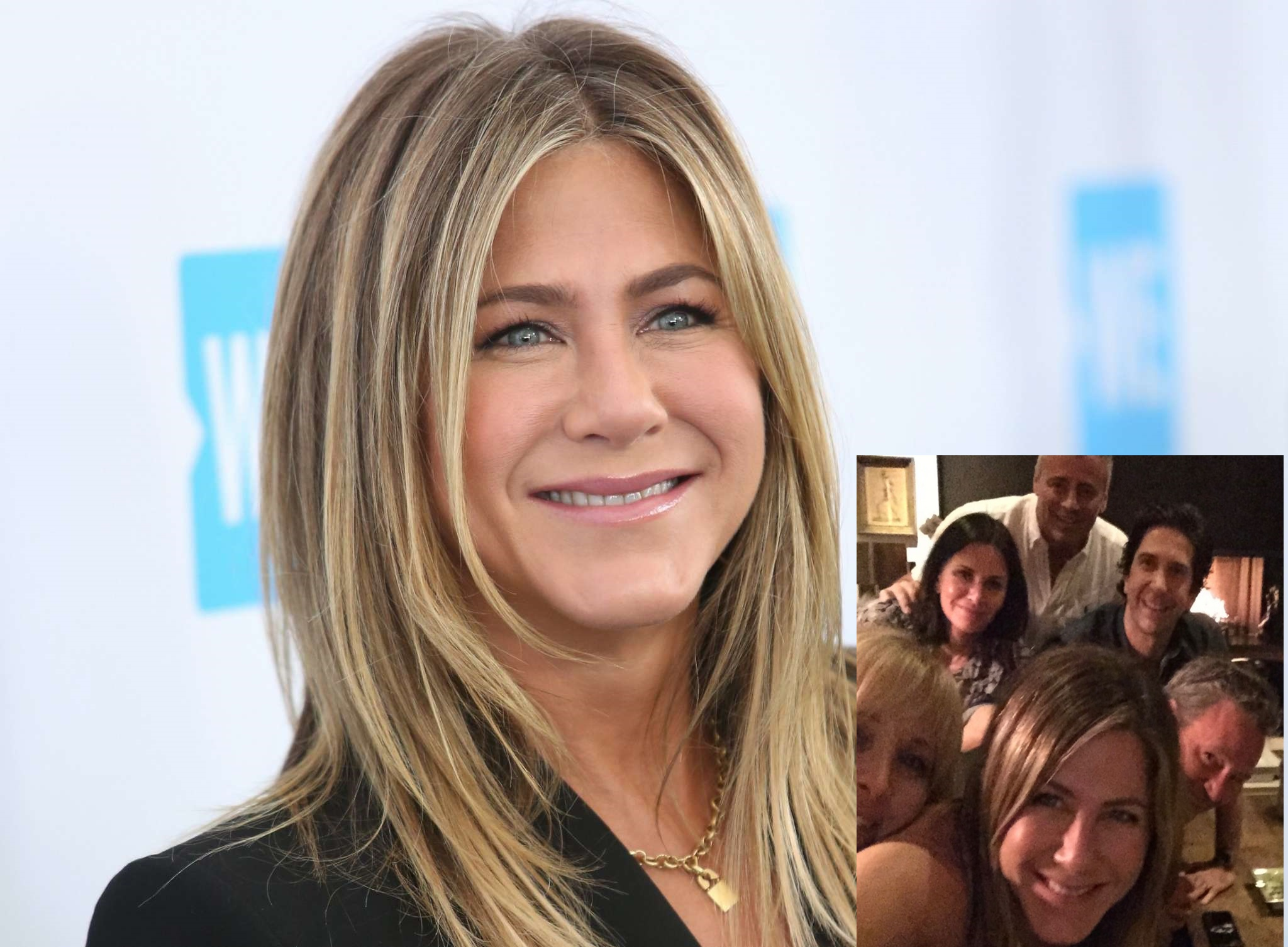 "Jennifer Aniston Finally Joins Instagram and Makes Her First Post Sharing a Photo With Her ""Friends"""