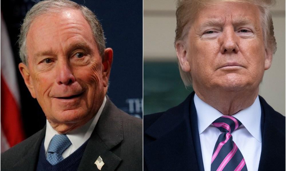 Bloomberg trolls Trump with billboards