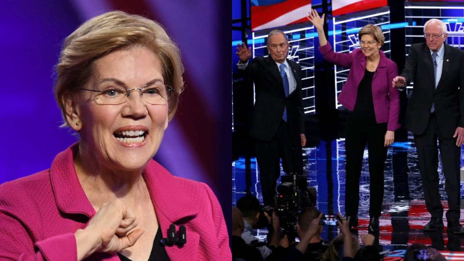In the fierce 2020 Democratic presidential debate, 1 winner and 5 losers