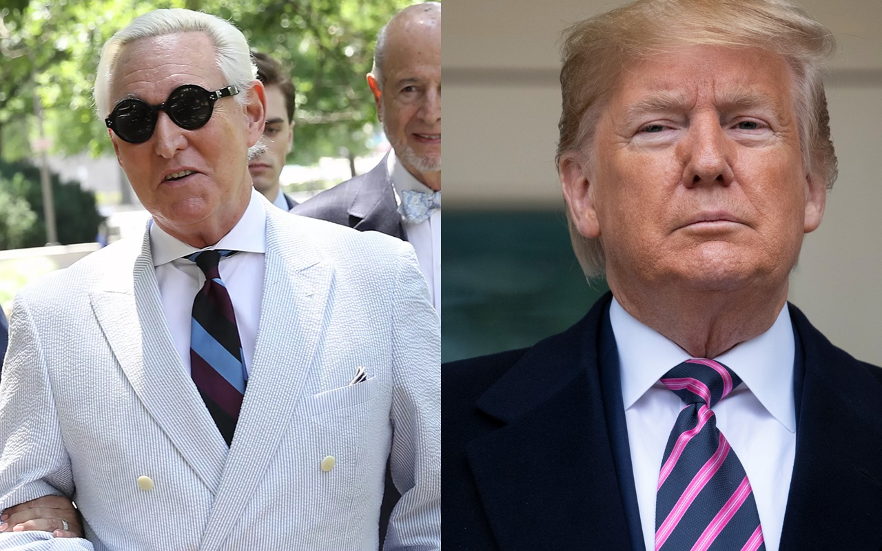 President Trump: Roger Stone has 'very good chance of exoneration'