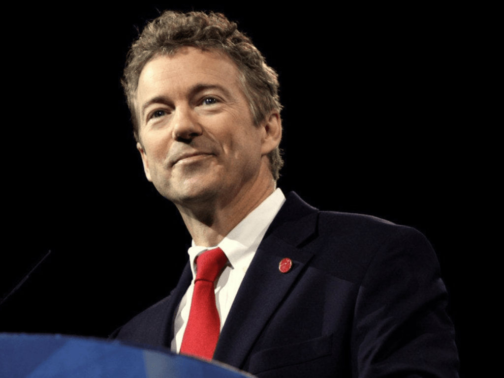 Rand Paul first senator to test positive for coronavirus