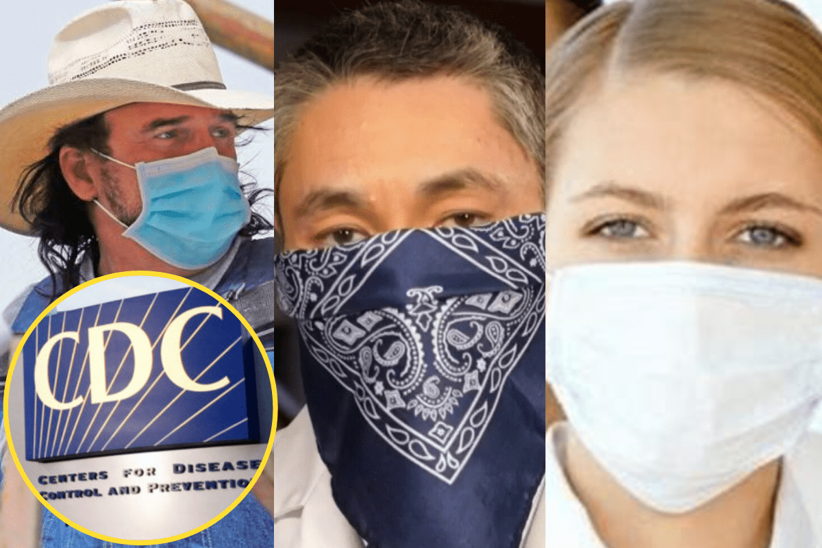 CDC recommends Americans wear face masks while in public
