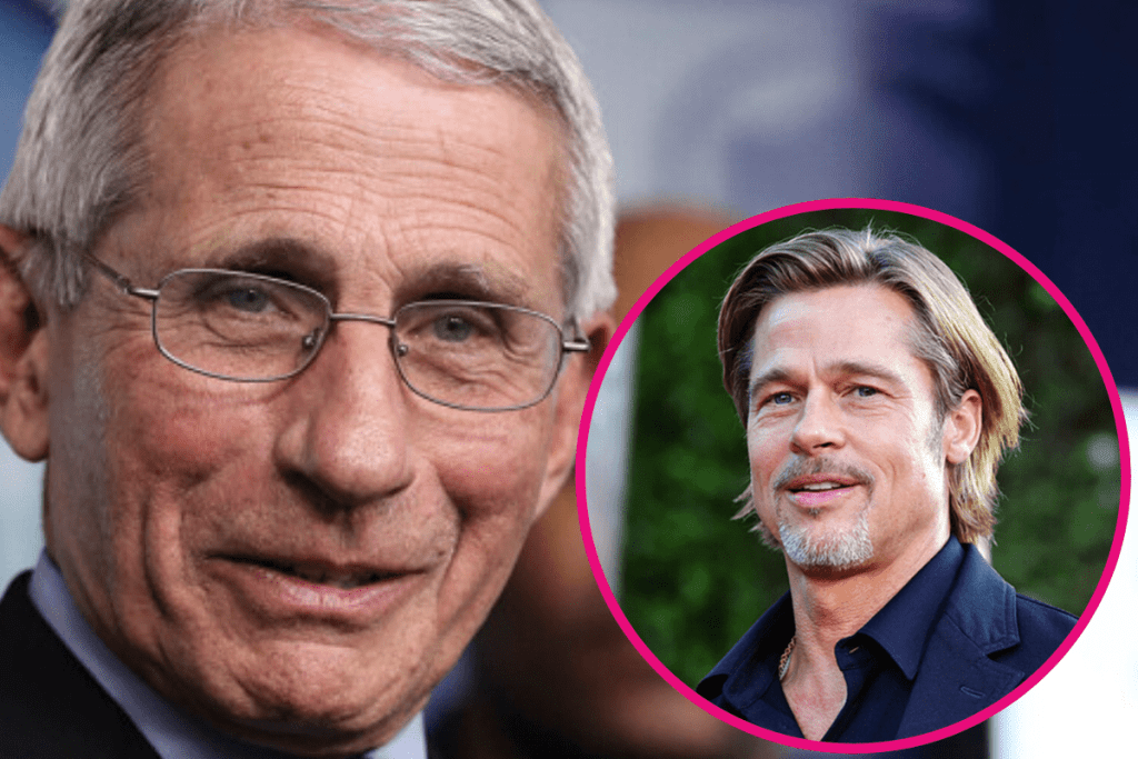 Dr. Fauci says he'd want Brad Pitt to play him on 'SNL'