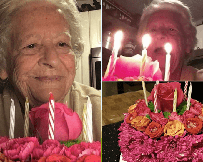 88-Year-Old Grandmother sings 'Happy Birthday' to herself in video while quarantined due to coronavirus