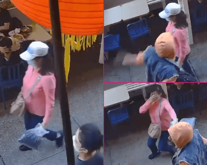 Man arrested charged with a hate crime after attacking 55 year old Asian in New York City's Chinatown