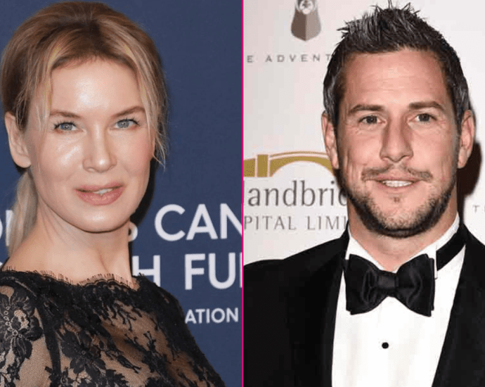 Out With The Old In With The New! Renée Zellweger Is Reportedly Dating HGTV Star Ant Anstead Days After He Finalizes His Divorce