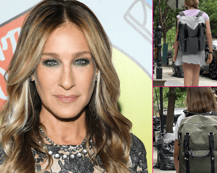 Sarah Jessica Parker Shares Rare Photo of Twin Daughters in Celebration For Last Day of School Year