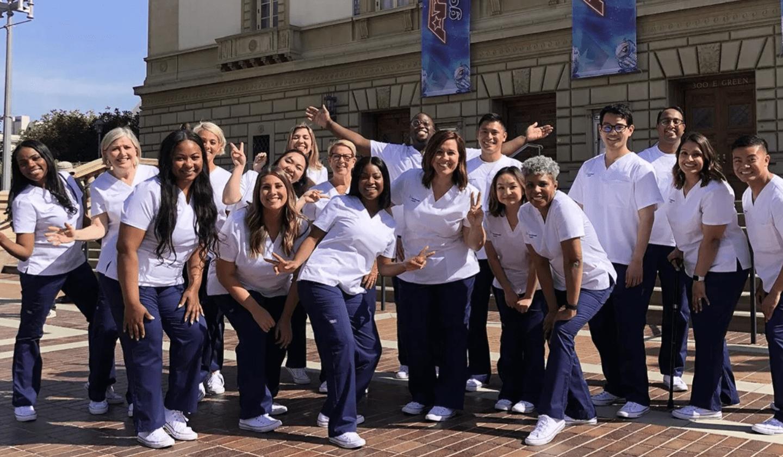 Singing Nurses Gets 'AGT' Golden Buzzer For Moving Rendition Of 'Lean On Me'