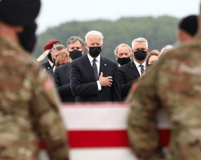 father of a Marine killed in the Kabul attack says he told president Biden to learn the victims' stories