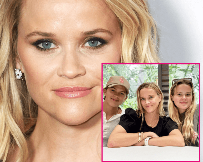 Reese Witherspoon Says She's 'Lucky' to Be a Mother as She Shares Sweet Lookalike Kids