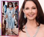 Ashley Judd makes first public appearance since shattering leg accident in Congo